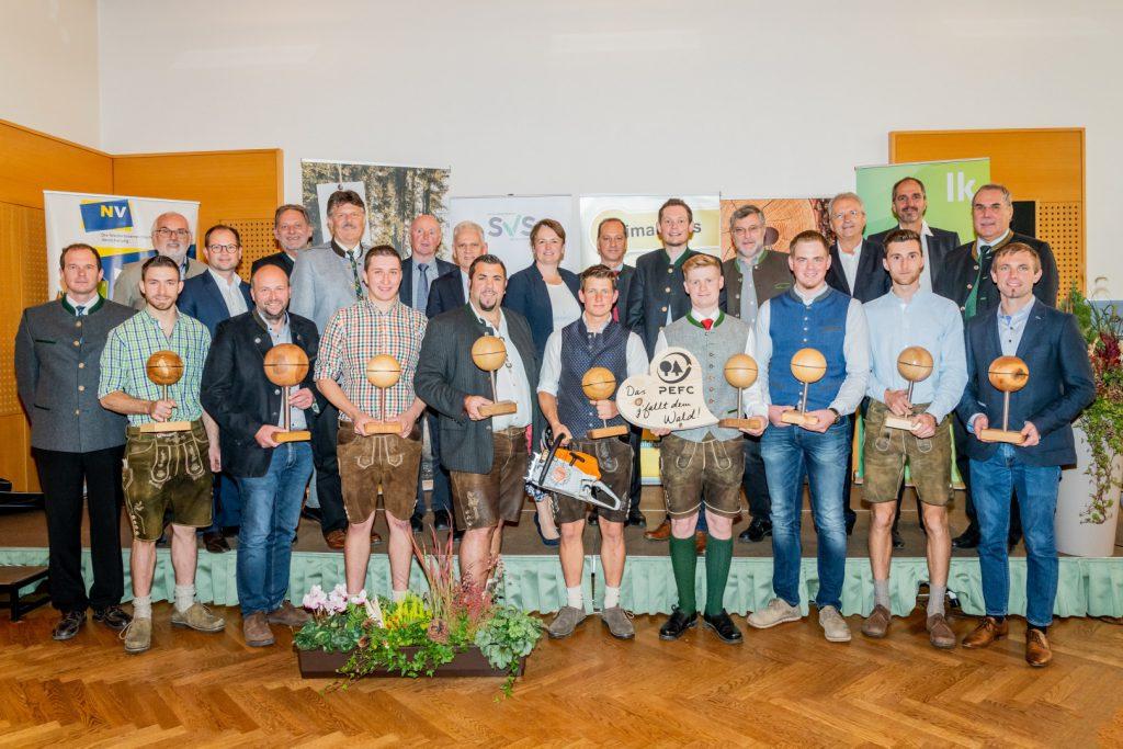 Auszeichnungen für geschulte Forstprofis